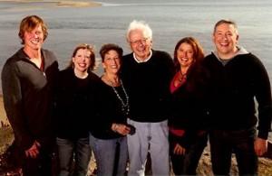Stephen, Kate, me, Dan, Sarah & Danny